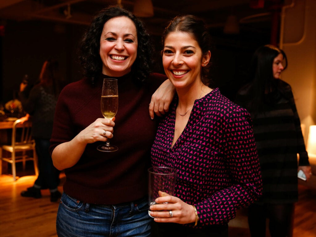 Munchies culinary director Farideh Sadeghin and SAVEUR test kitchen director Stacy Adimando