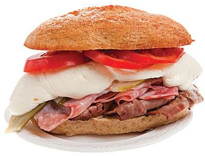 Bauru (Brazilian Roast Beef Sandwich)