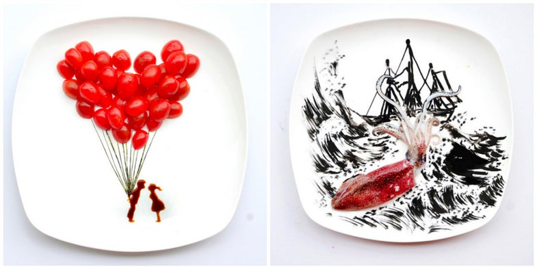 Weekend Reading: Dinner-Plate Art, Cheesy Fashion, Declining Cupcakes, and More