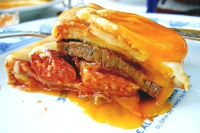 Mega Monsieur: Porto's Francesinha Sandwich