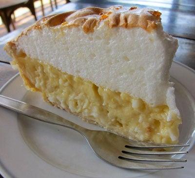 Young Coconut Cream Pie