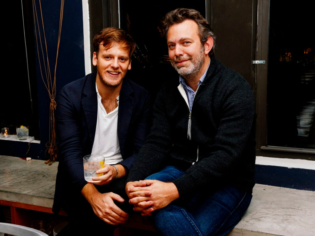 SAVEUR Editor-in-Chief Adam Sachs chats with photographer William Hereford.