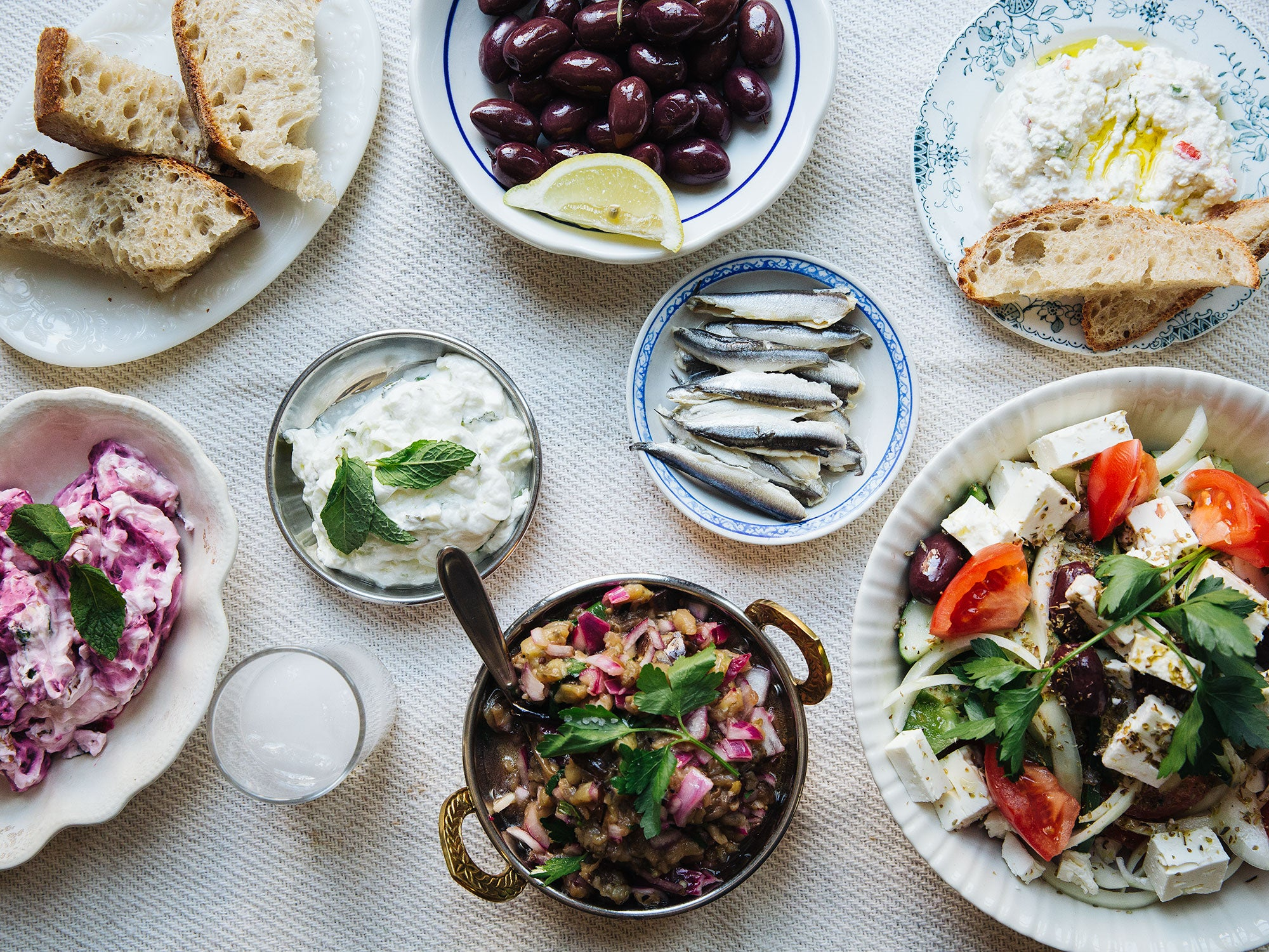 How to Make the Perfect Greek Meze Spread
