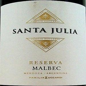 Santa Julia, Mendoza (Argentina) Malbec Reserva 2006