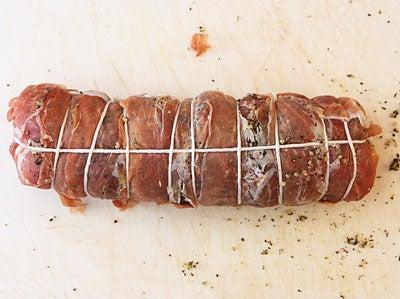 Preparing Roast Pork Loin (Arista Di Maiale)