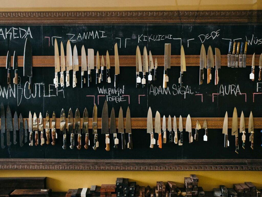 Wall of Knives
