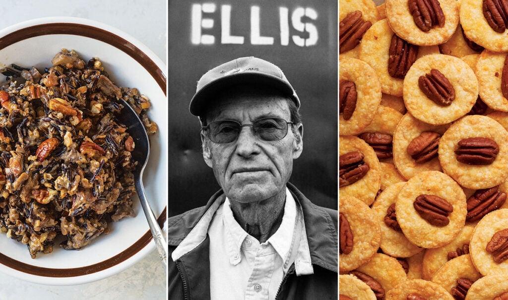 Pecan dirty rice, Elliot Ellis, Pecan crisps