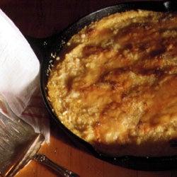 Polenta Pie with Gorgonzola