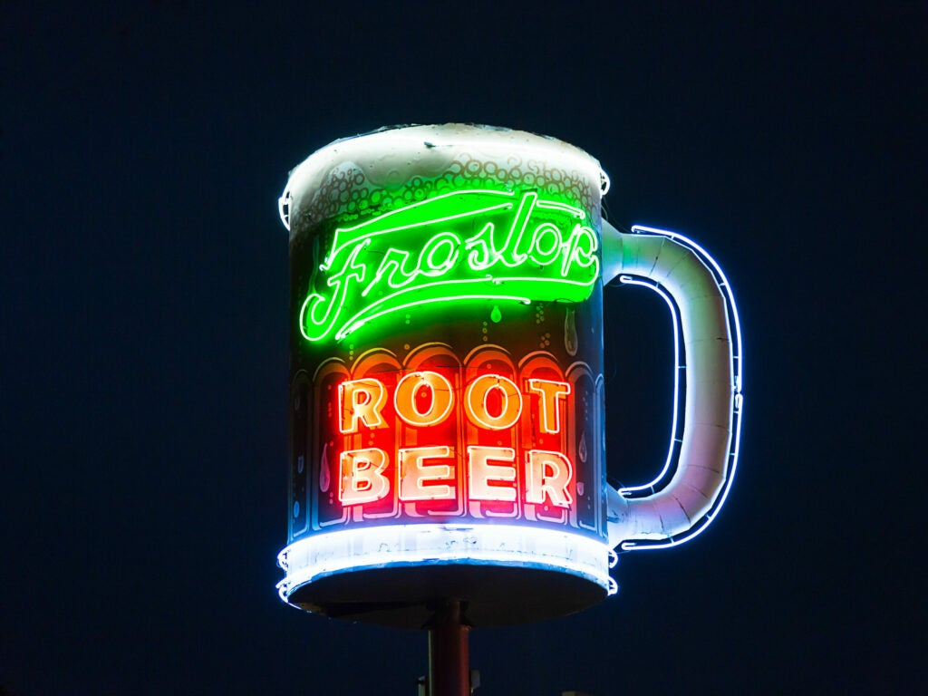 New Orleans Frostop Root Beer Sign