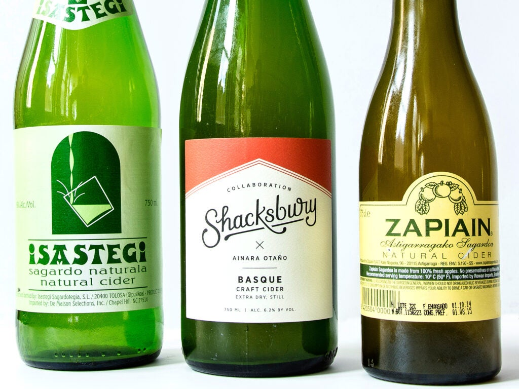 Basque Ciders