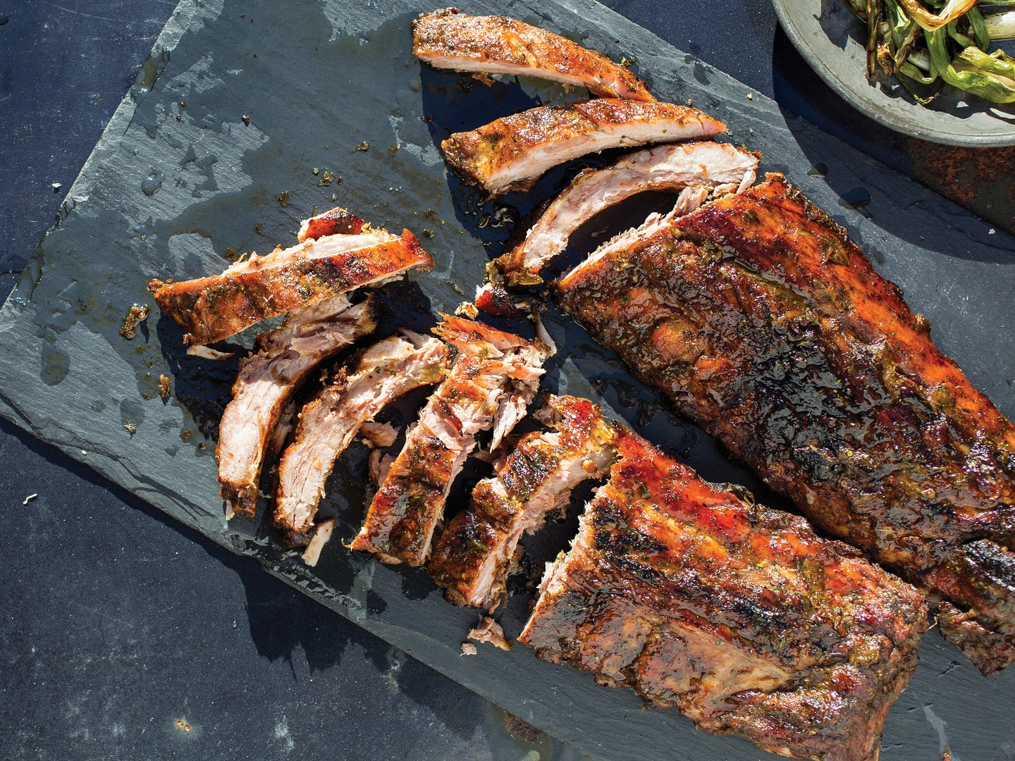 Grilling Smoked Ribs
