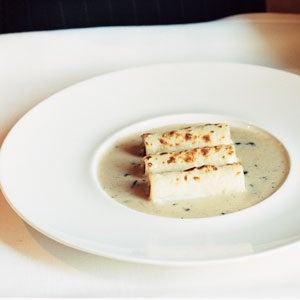 Cannelloni with Truffle Cream