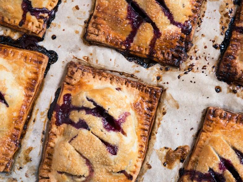 Nectarine, Blueberry, and Vanilla Bean Hand Pies
