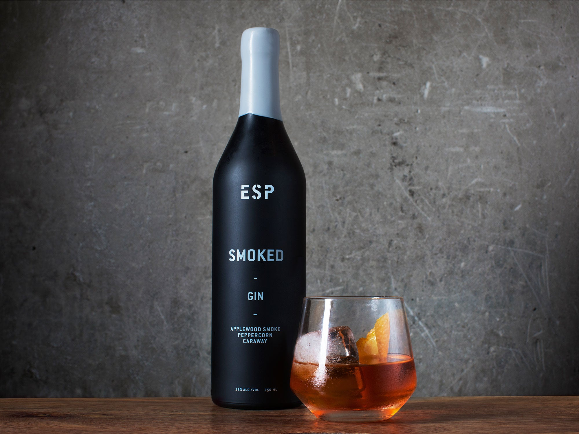 A Former Fine Dining Chef Launches America's First Smoked Gin