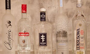 Putting Polish Vodkas to the (Taste) Test