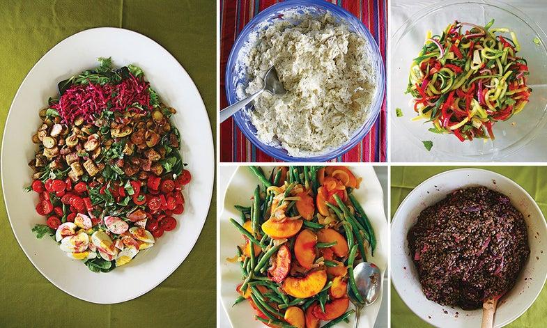 Menu: A Salad-Themed Summer Potluck