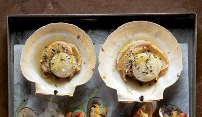 Cappesante al Forno (Baked Scallops with Parmesan)