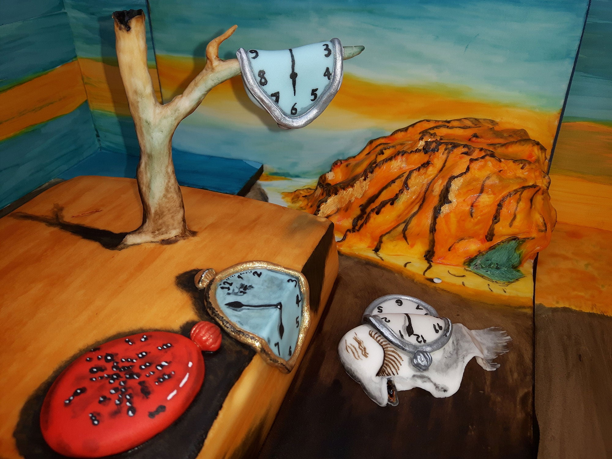 How to Bake Your Very Own Salvador Dalí 'Persistence of Memory' Cake