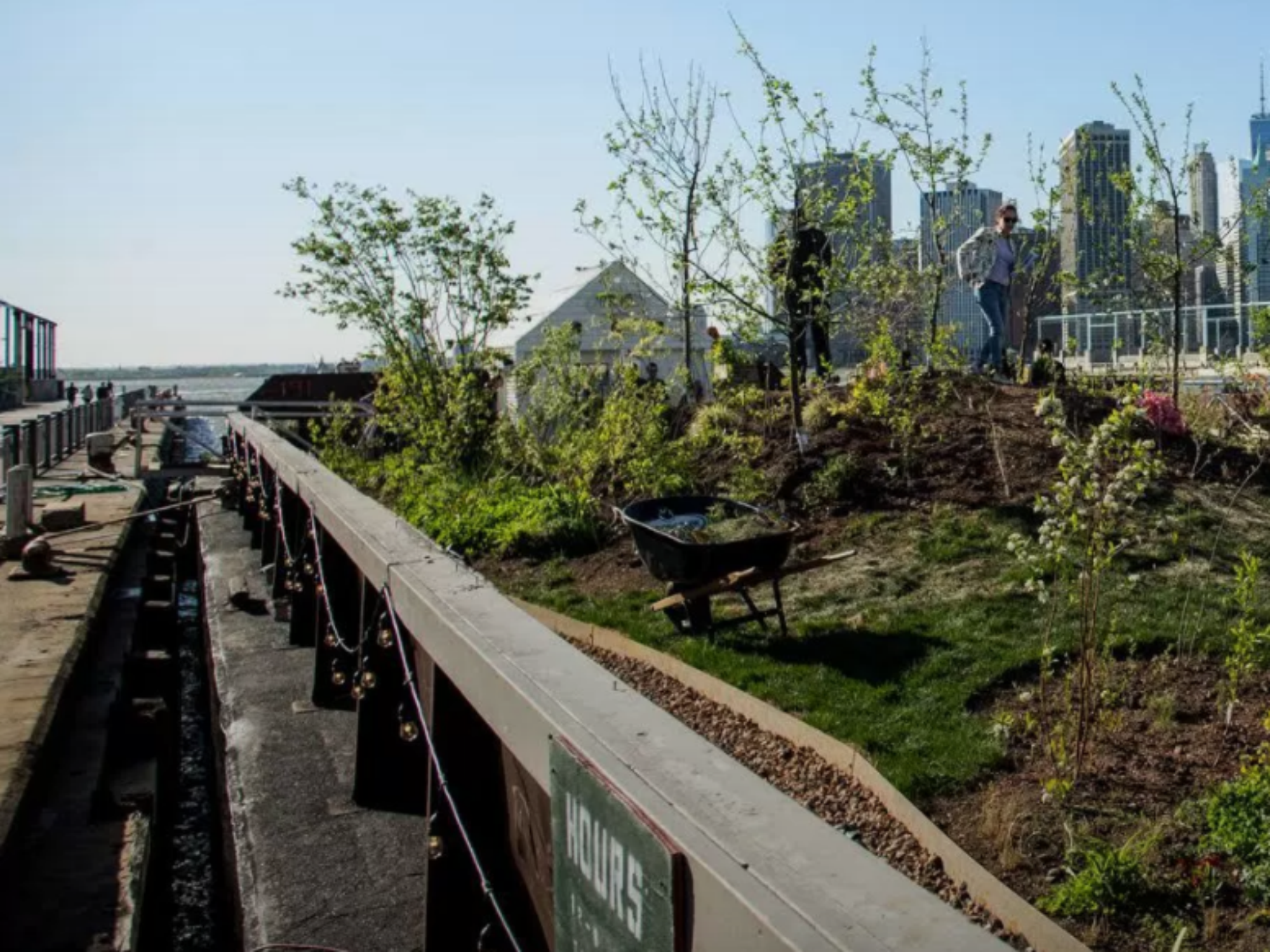 This Barge is Fighting Food Deserts With a Floating Forest