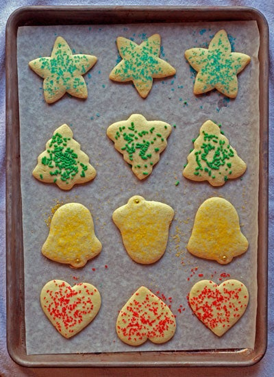 Gluten-Free Classic Christmas Cookies