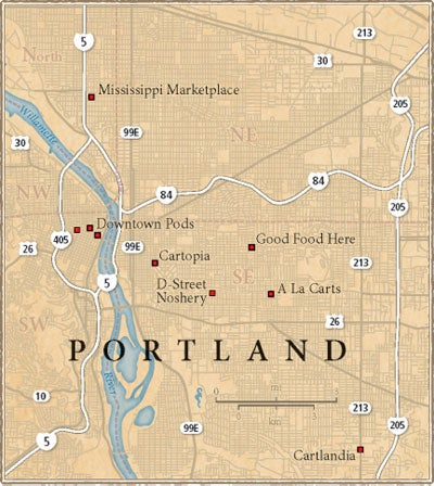 The Guide: The Food Cart Pods of Portland, OR