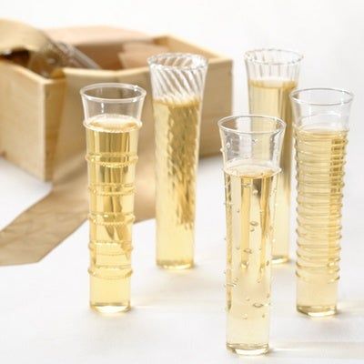 Dainty Champagne Flutes