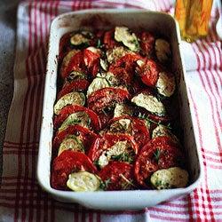 Tomato–Zucchini Tian