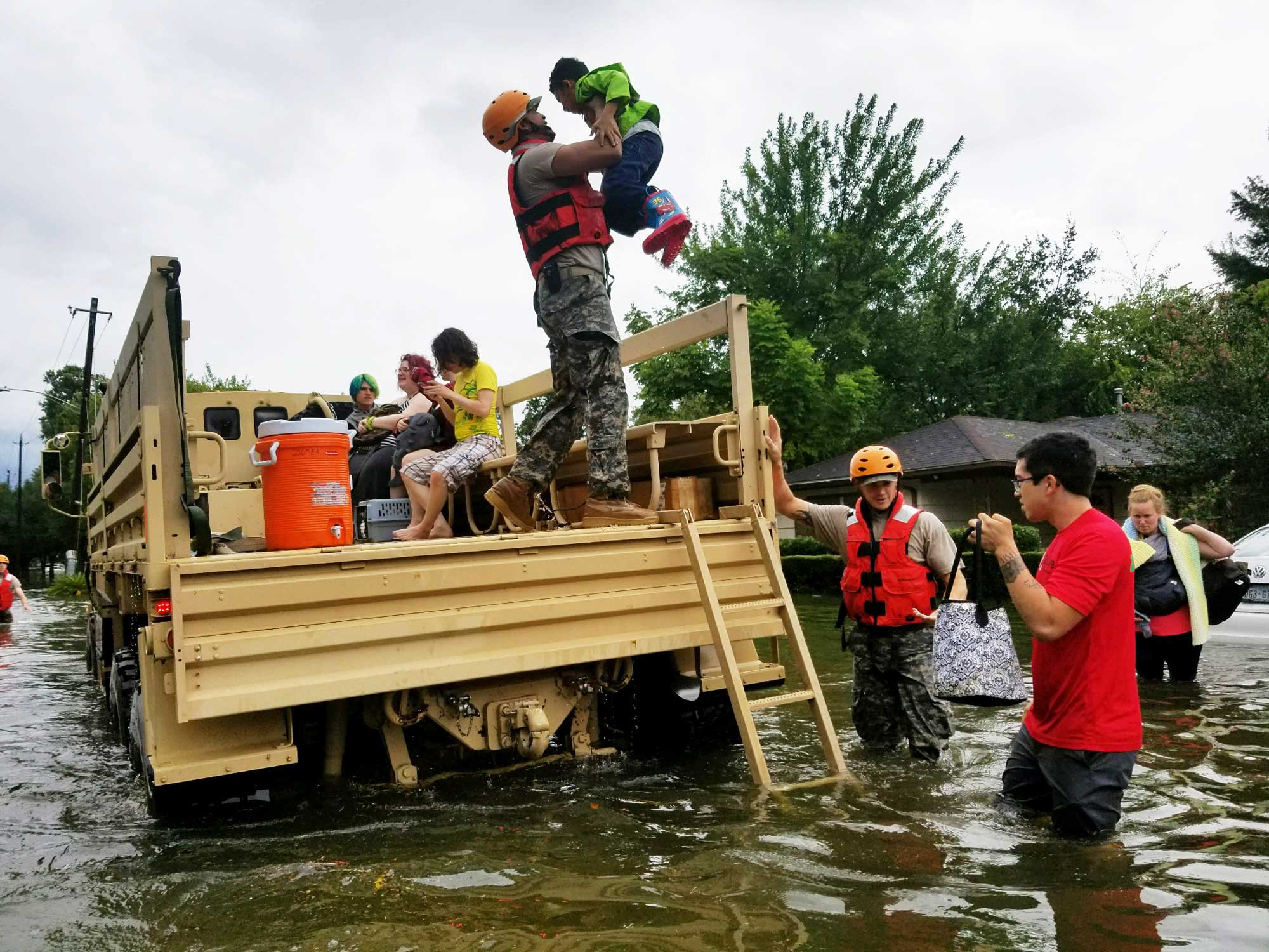 How to Feed (and Otherwise Support) Hurricane Harvey Relief Efforts in Texas