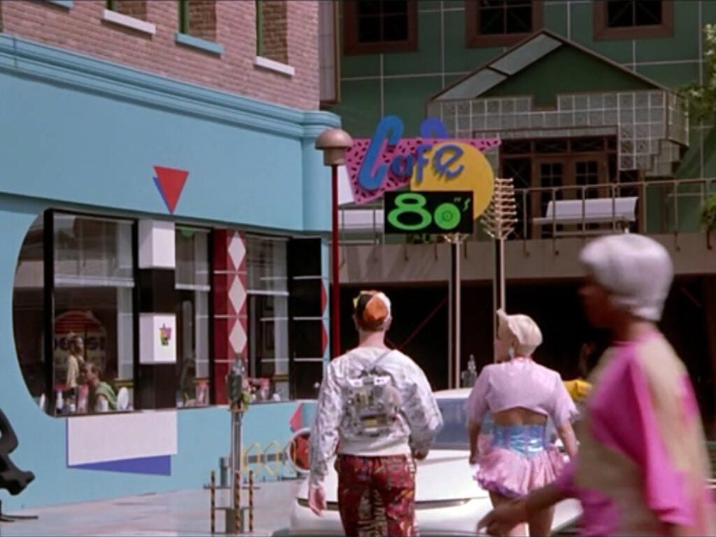 Back to the Future Cafe