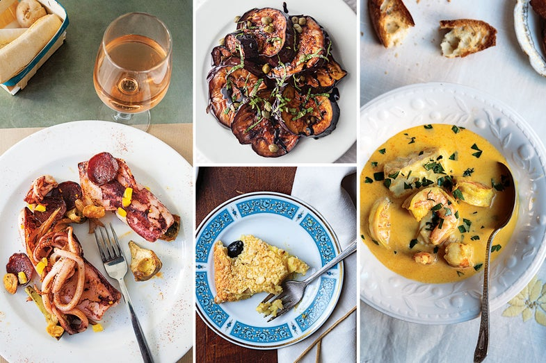 Menu: A Coastal French Dinner
