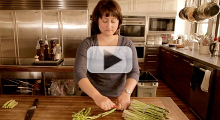 How to Ribbon Asparagus Without a Mandoline