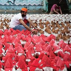 Scenes of Sindhi India