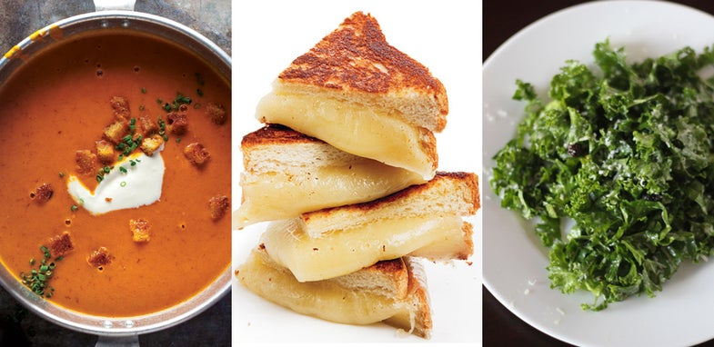 Tomato Soup and Grilled Cheese, Updated