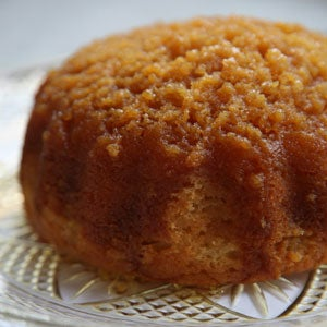 Golden Syrup Sponge Cake