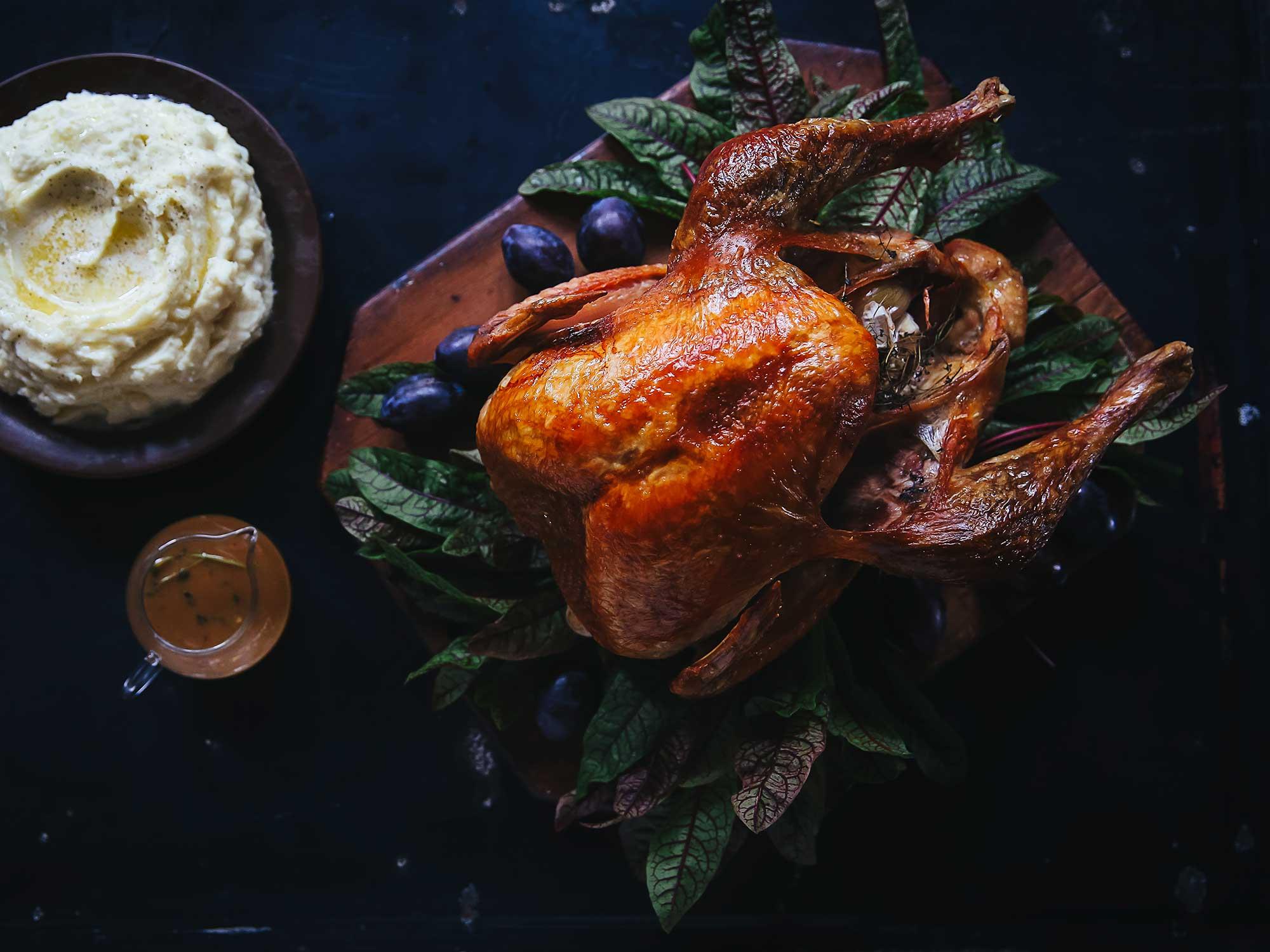 Easy, Perfect Roast Turkey and Gravy