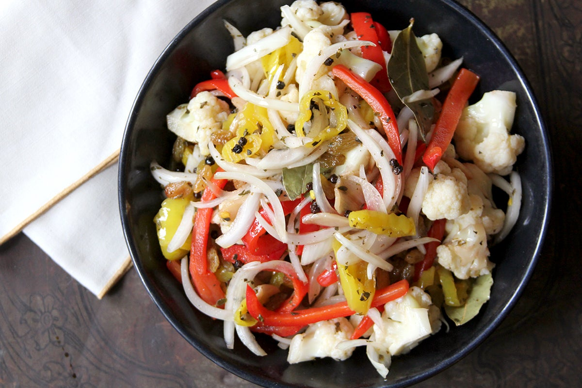 Quick-Pickled Cauliflower