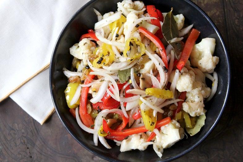 Quick-Pickled Cauliflower