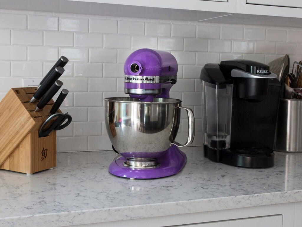Julian Medina Purple Kitchen Aid