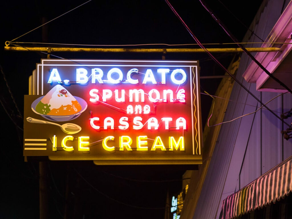 New Orleans Angelo Brocato's Ice Cream