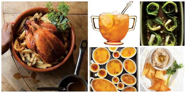 Menu: A French Roast Chicken Dinner