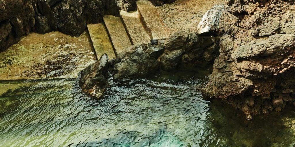swimming hole in Porto Moniz
