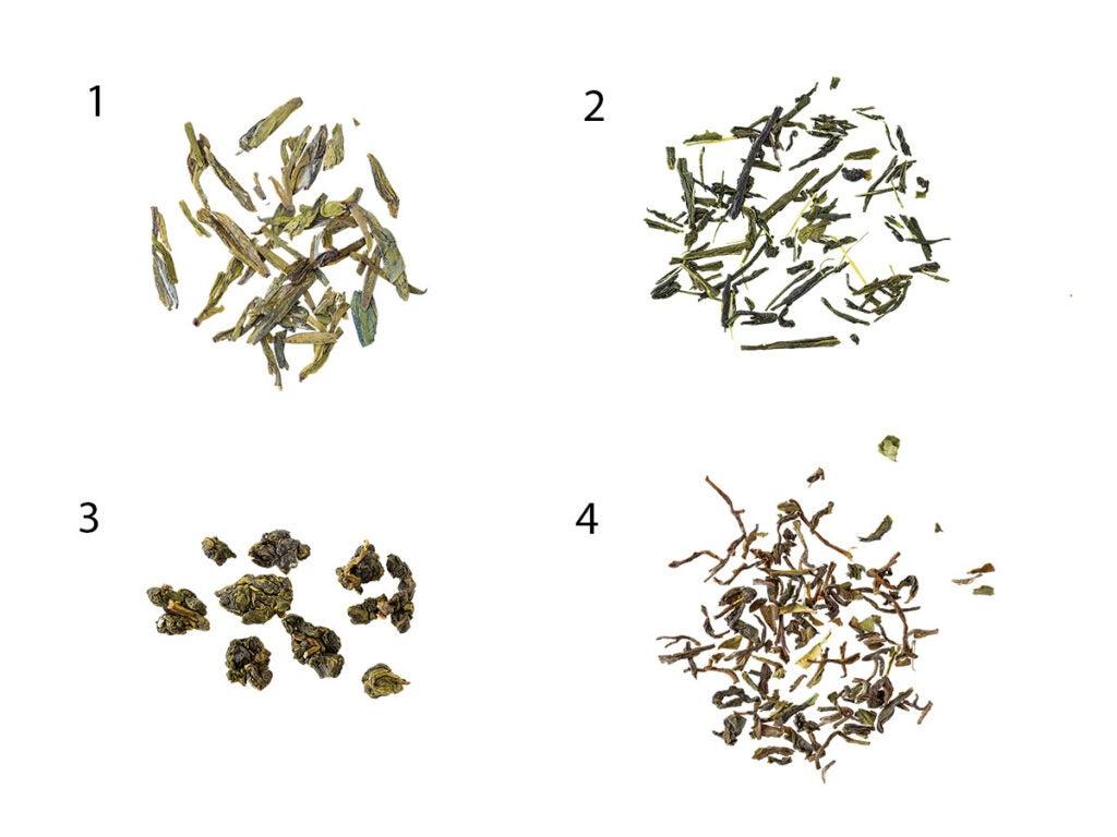Spring Tea Leaves