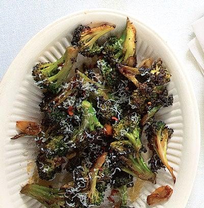 Broccoli Strascinati (Broccoli with Garlic and Hot Pepper)