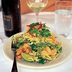 Crispy Calamari with Curry Slaw