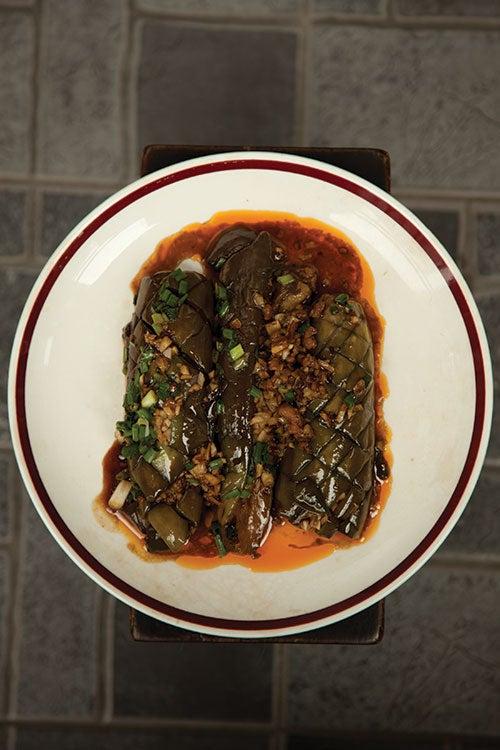 Sichuanese Fried Eggplant (Yu Xiang Qie Zi)
