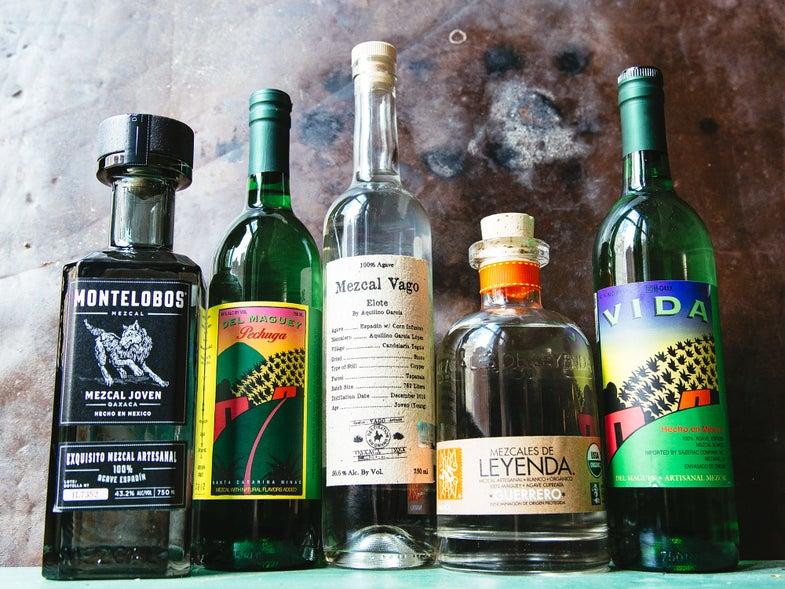 Mezcal Bottles