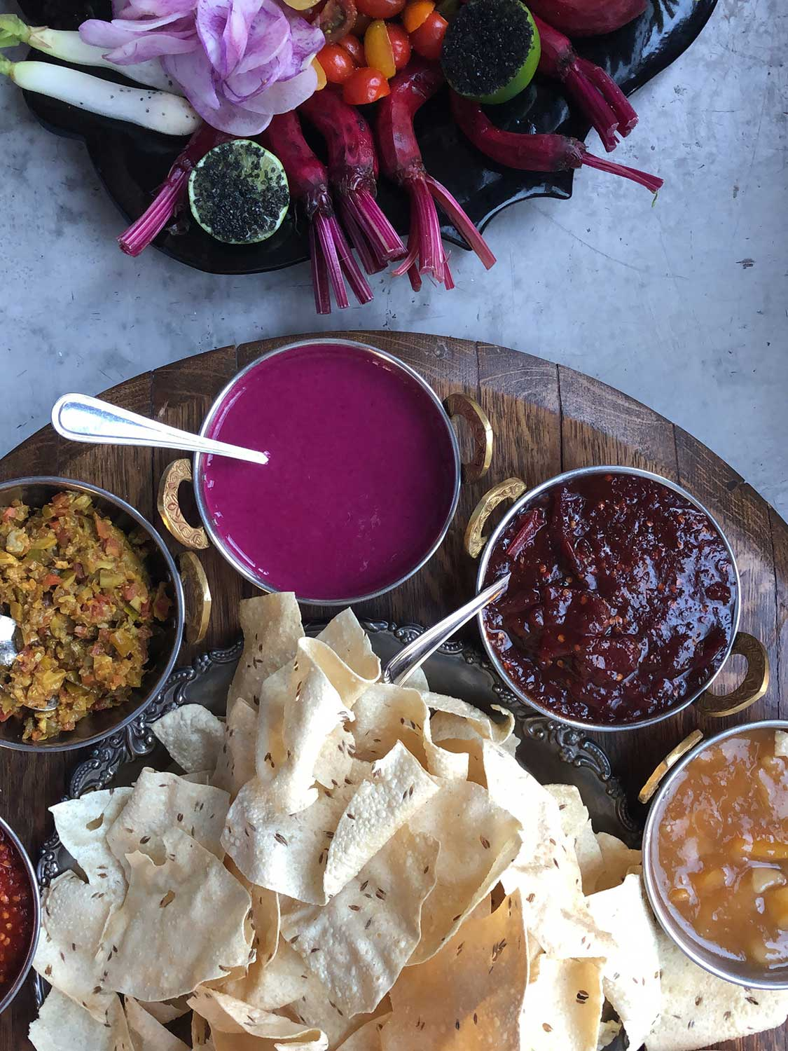 Chef Jessi Singh Brings Biryani in an Urchin and Volcanic Salt to the SAVEUR Test Kitchen