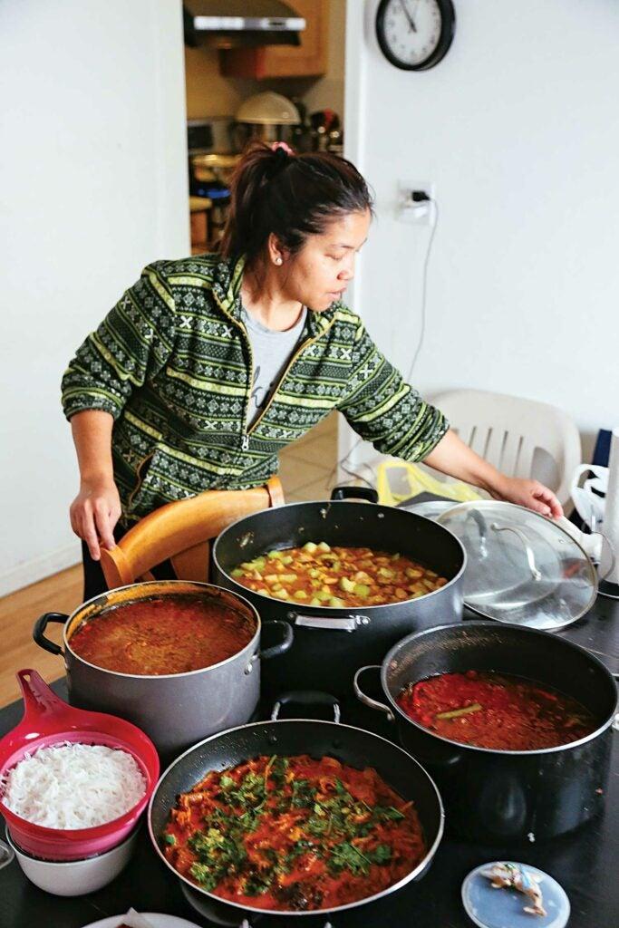burmese food nyc ma chaw su kyaw