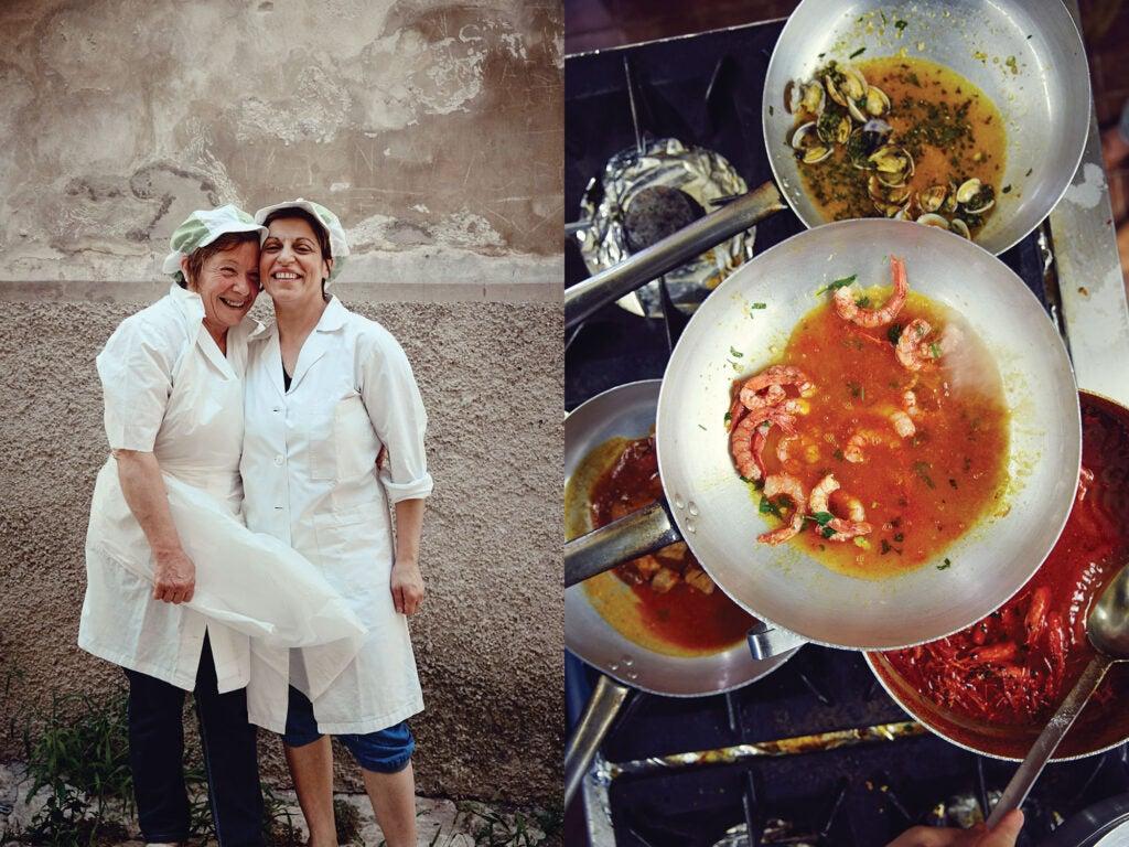 Women in Sicily