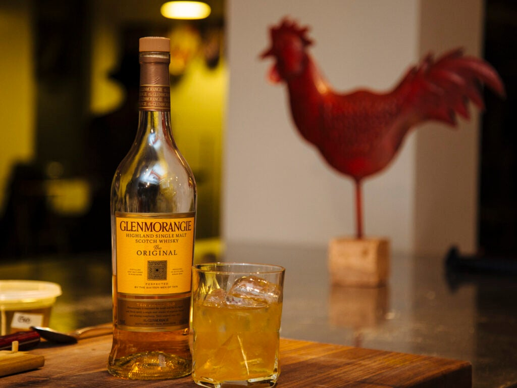 A Glenmorangie and a Red Rooster